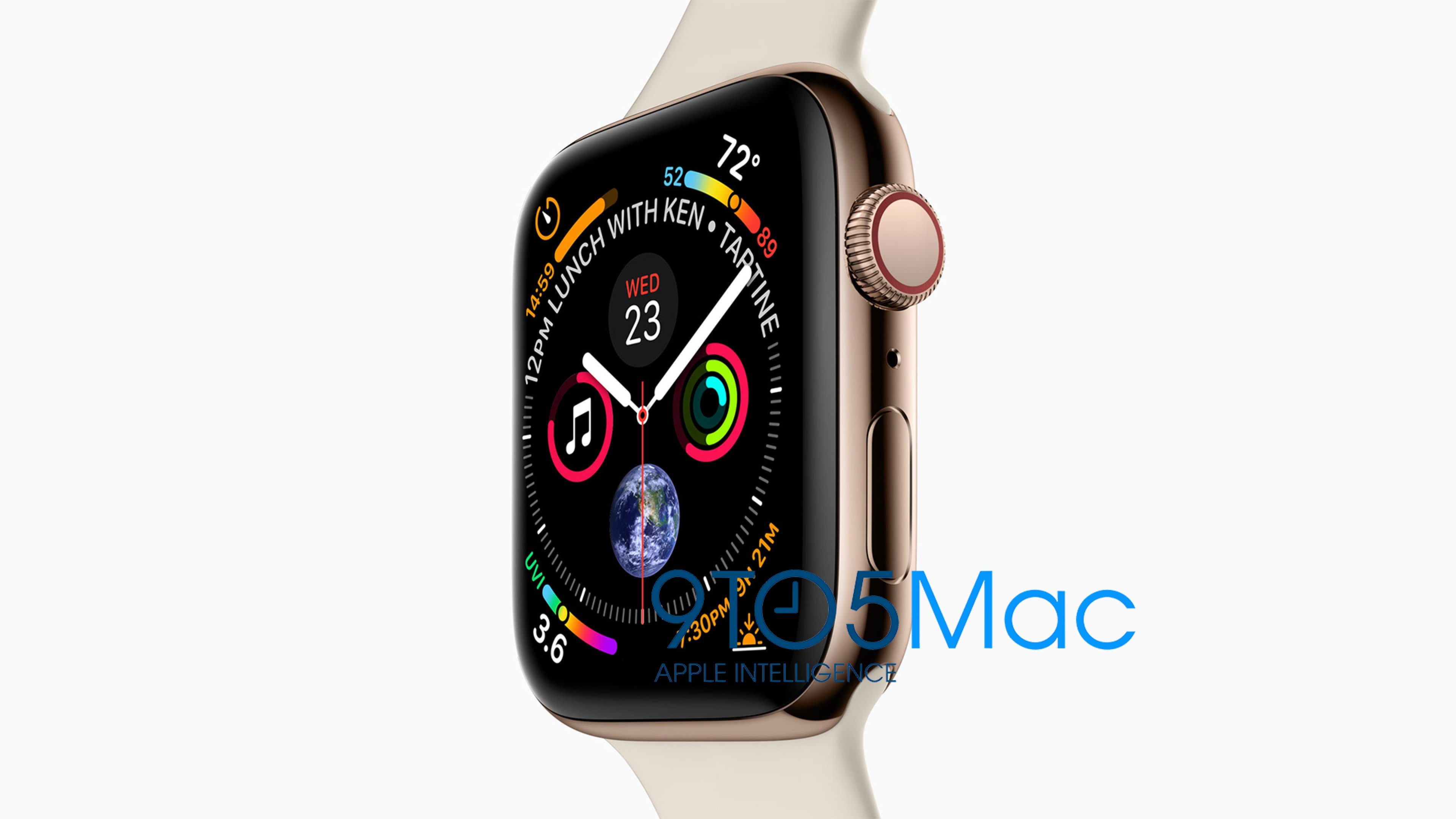 Image of the Apple Watch Series 4